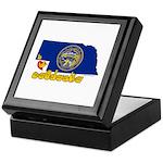 ILY Nebraska Keepsake Box