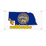ILY Nebraska Banner