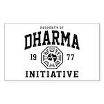 Dharma Initiative Sticker (Rectangle)