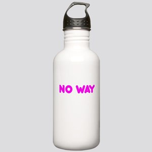 No Way Stainless Water Bottle 1.0L