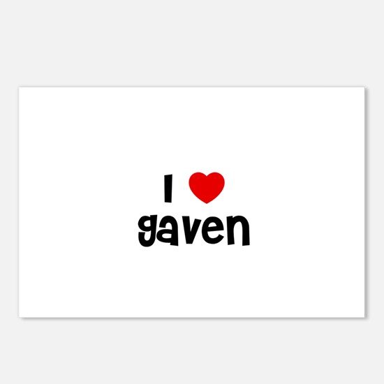 I * Gaven Postcards (Package of 8)