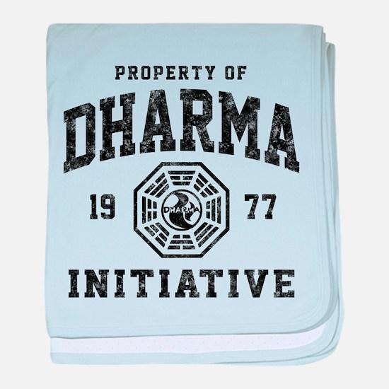 Dharma Faded baby blanket