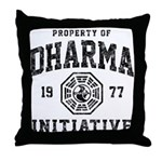 Dharma Faded Throw Pillow