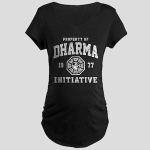 Dharma Faded Maternity Dark T-Shirt
