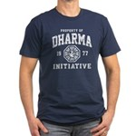 Dharma Faded Men's Fitted T-Shirt (dark)