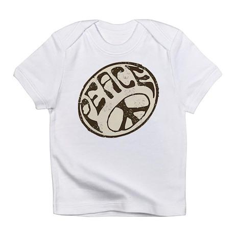 Retro Vintage Peace Sign Infant T-Shirt