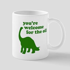 You're Welcome Oil Mug