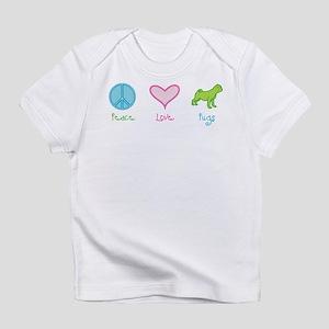 Peace Love Pugs Infant T-Shirt