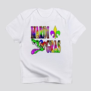 Mardi Gras with Gator Infant T-Shirt