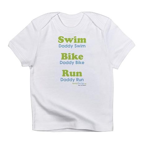 Triathlon Daddy Infant T-Shirt