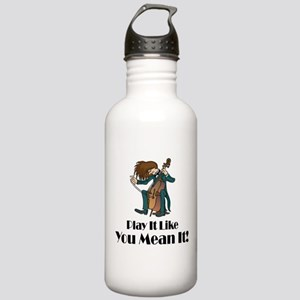 Play The Cello Stainless Water Bottle 1.0L