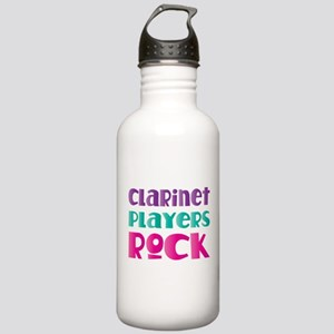 Clarinet Players Rock Stainless Water Bottle 1.0L