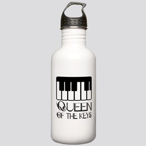 Piano Queen Of Keys Stainless Water Bottle 1.0L
