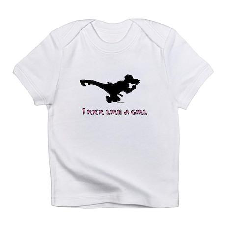 I Kick Like A Girl Infant T-Shirt
