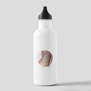 Skull & Crossbones Baseball Stainless Water Bottle