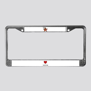 CANDY  License Plate Frame