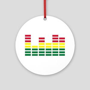Equalizer Ornament (Round)