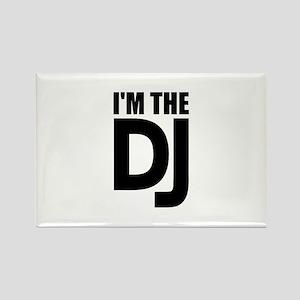 I'm the DJ Rectangle Magnet