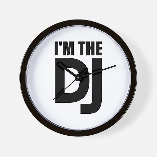 I'm the DJ Wall Clock