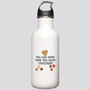 Chocolate Lover Stainless Water Bottle 1.0L