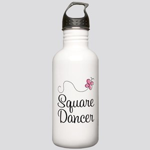 Cute Square Dancer Stainless Water Bottle 1.0L