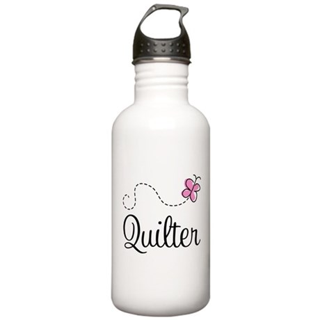Pretty Quilter Stainless Water Bottle 1.0L
