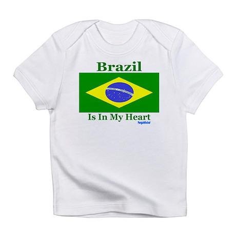 Brazil - Heart Infant T-Shirt