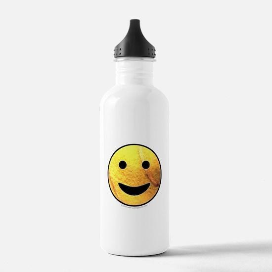 Tennis Ball Smiley Water Bottle