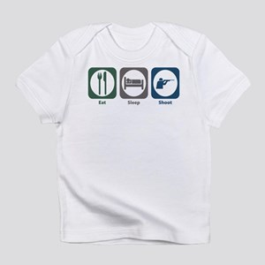 Eat Sleep Shoot Infant T-Shirt