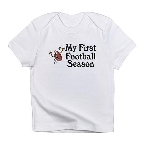 My First Football Season Infant T-Shirt