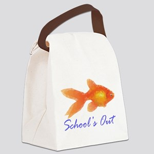 Schools out Canvas Lunch Bag