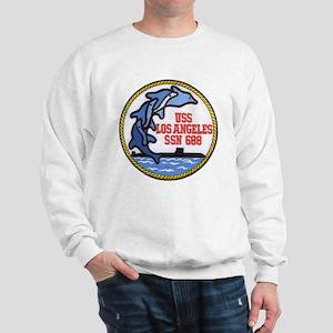 USS Los Angeles SSN 688 Sweatshirt