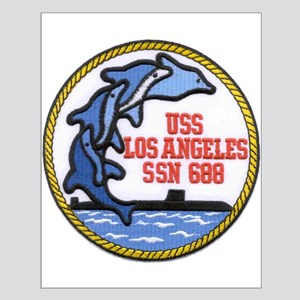 USS Los Angeles SSN 688 Small Poster