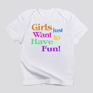 Riyah-Li Designs Girls Want Fun Infant T-Shirt