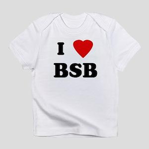 I Love BSB Infant T-Shirt