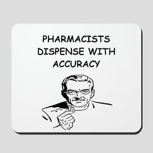 funny pharmacist Mousepad