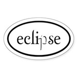 Eclipse Euro Sticker (Oval)