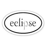 Eclipse Euro Sticker (Oval)