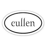 Cullen Euro by twibaby Sticker (Oval 50 pk)