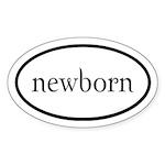 Twilight Newborn by twibaby Euro Sticker (Oval 50