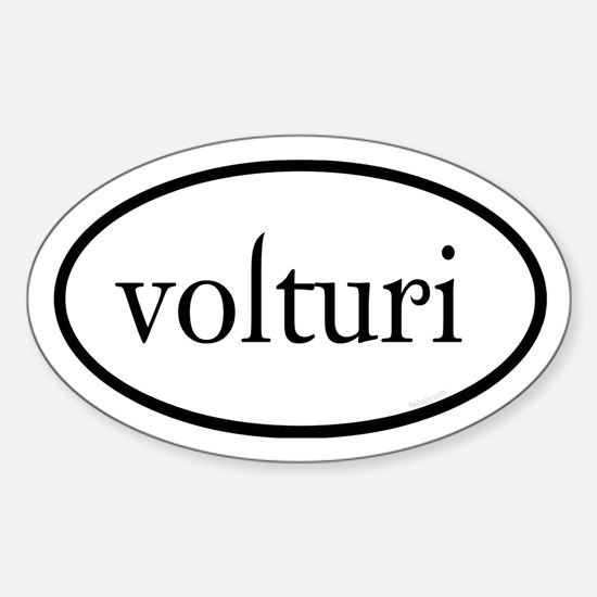 Volturi Euro Sticker (Oval)