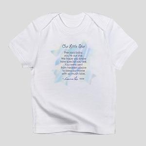 OUR LITTLE STAR POEM (Boy)- Infant T-Shirt