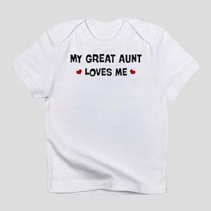 Great Aunt loves me Infant T-Shirt