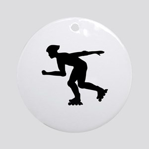Inline skating Ornament (Round)