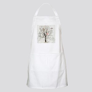 Winter and heart - Apron