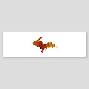 Autumn Leaves U.P. Sticker (Bumper)