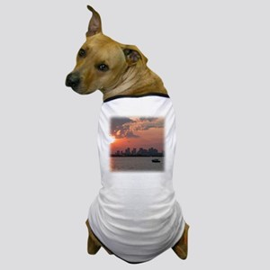 Sunset Skyline Dog T-Shirt