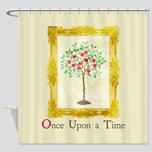 OUAT Lucy Story Book Shower Curtain