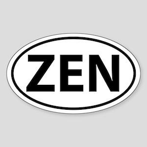 ZEN Sticker (Oval)