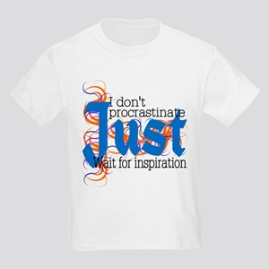 Procrastinator Kids Light T-Shirt